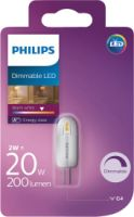 Philips LED 20W G4 WW 12V Dim 1BC/4