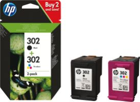 Hewlett Packard 302 HP Combo Pack